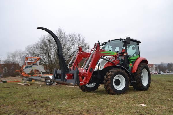 Traktor steyr kompakt kap institut outdoor training